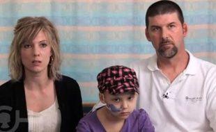 Capture d'écran de la vidéo publiée par l'Hôpital des enfants de Philadelphie, le 11 décembre 2012