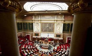 L'assemblée nationale à Paris.