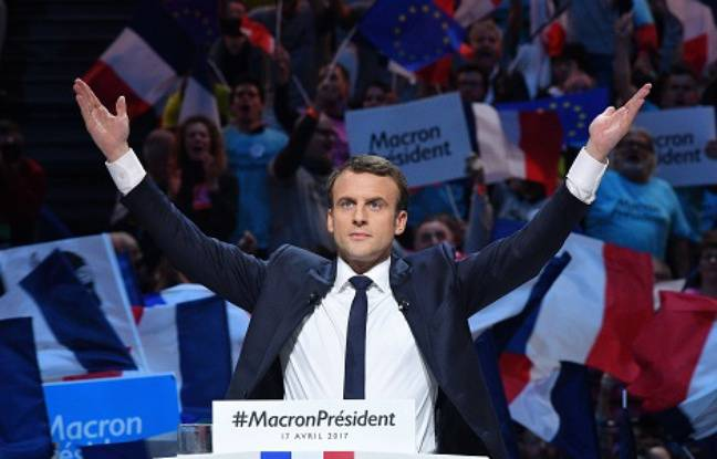 Emmanuel Macron, candidat à la présidentielle