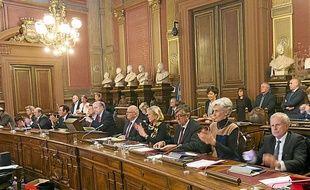 Le conseil municipal de Bordeaux, le 24 février 2014