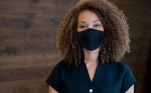 Les masques virucides sont conçus pour éliminer les microbes plutôt que les bloquer. (ILLUSTRATION)