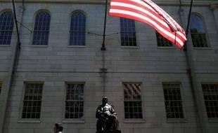 Campus de l'université d'Harvard, aux Etats-Unis, le 10 mai 2010.