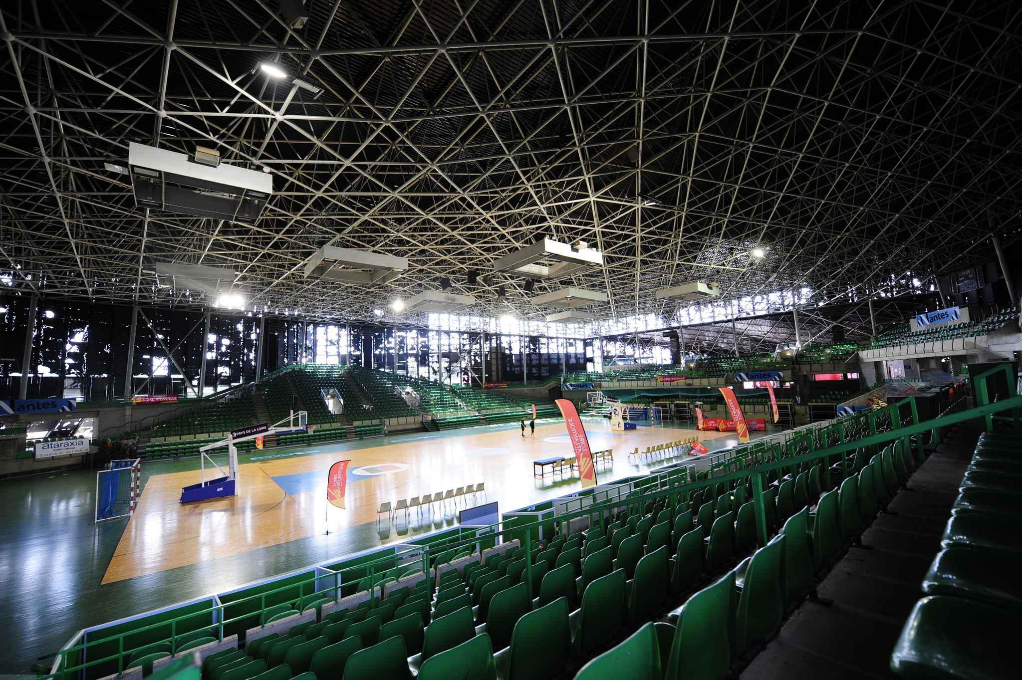 Nantes les travaux du palais des sports de beaulieu for Piscine du palais des sports a nanterre nanterre