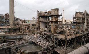 L'usine Metaleurop un an après l'annonce de sa fermeture. (Archives)