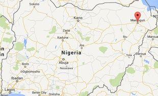 Capture d'écran du Nigeria