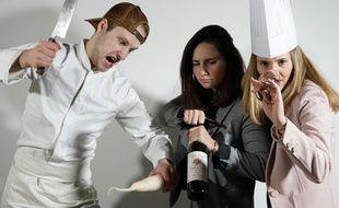 Loris de Vaucelles, Annaïg Ferrand et Jade Frommer sont les fondateurs de la société Ephemera, spécialisée dans l'ouverture de restaurants éphémères à l'univers enchanteurs.