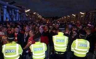 Les fans du FC Cologne sont venus en masse à l'Emirates Stadium.