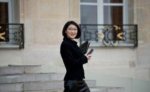 La ministre de la Culture Fleur Pellerin à Paris le 13 novembre 2015.