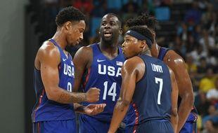 Les basketteurs américains ont tranquillement dominé la Chine aux JO le 6 août 2016.