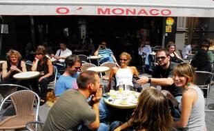 Illustration d'un restaurant à Marseille.