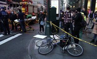 Une automobiliste a percuté vendredi après-midi plusieurs personnes dans le centre de Manhattan.