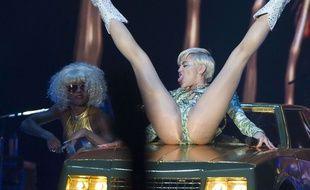 Miley Cyrus, à Madrid, le 17 juin 2014.