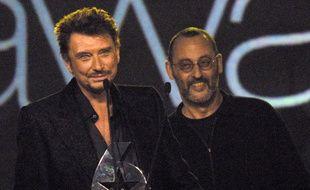 Johnny Hallyday et Jean Reno