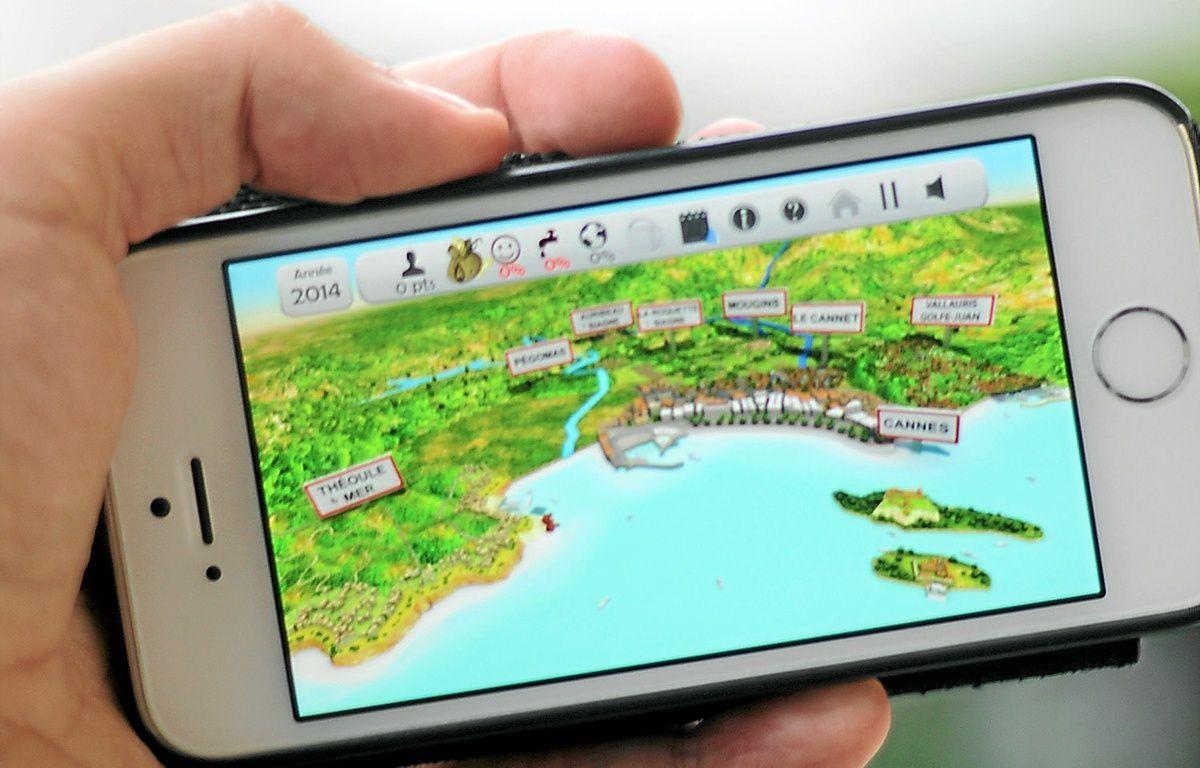Le jeu, disponible sur smartphone. – F. Binacchi / ANP / 20 Minutes