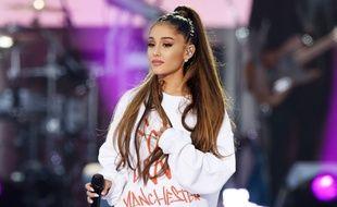 Ariana Grande lors du concert «One Love Manchester», le 4 juin 2017. Ce soir-là, plusieurs artistes ont rendu hommage aux victimes de l'attentat de Manchester survenu le 22 mai 2017.