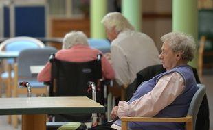 Des malades d'Alzheimer dans une maison de retraite de l'est de la France. (archives)