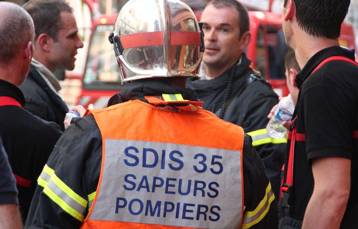 Des pompiers en intervention rue de Penhoët à Rennes, le 10 septembre 2014. – C. Allain / APEI / 20 Minutes