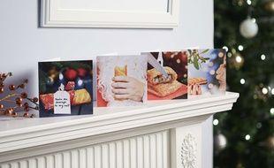 Des cartes de vœux (image d'illustration).
