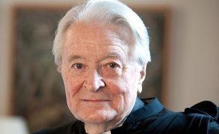 L'avocat Roland Dumas dans son cabinet parisien le 18 février 2011.