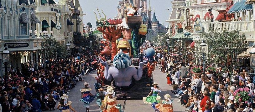 Illustration du parc Disneyland