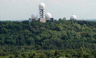 La station d'écoutes abandonnée du Teufelsberg, vestige de la guerre froide, le 27 juillet 2011