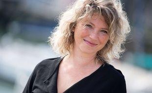 Cecile Bois au festival international de la fiction télé de La Rochelle, en 2017.