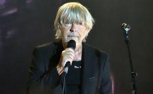 Le chanteur Renaud.