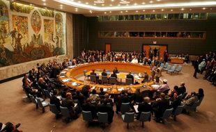 Illustration du Conseil de sécurité de l'ONU.