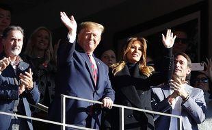 Donald Trump n'a pas toujours reçu ce genre d'accueil si positif lors de ses déplacements sportifs.