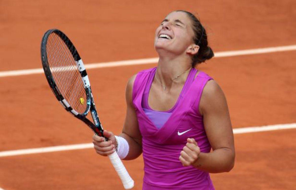 La joueuse italienne Sara Errani lors de sa demi-finale à Roland-Garros contre Samantha Stosur, le 7 juin 2012. – F.Lenoir/REUTERS