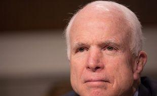 Le sénateur américain John Mccain