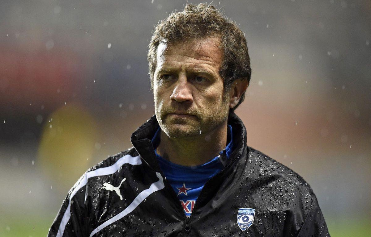 Fabien Galthié est sans club depuis son éviction de Montpellier. – PASCAL GUYOT / AFP