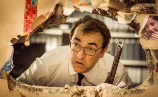 Albert Dupontel dans son film «Adieu les cons»