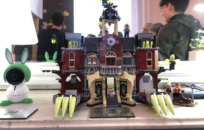 De futurs jouets Lego que l'on pourra utiliser avec une tablette et la réalité augmentée.