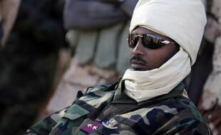 Mahamat Idriss Déby, le fils d'Idriss Déby, en mars 2013.