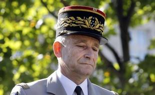 Le général Pierre de Villiers, chef des armées françaises, le 14 juillet 2017.