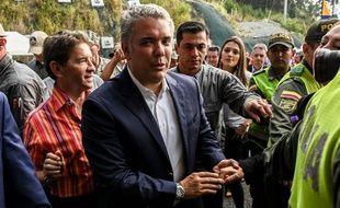 Le président colombien Ivan Duque à Medellin le 15 août 2019.