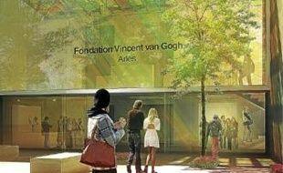 Le projet de la future Fondation imaginé par le cabinet d'architecte, Fluor.