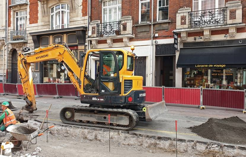 Lille : Les commerçants d'une rue en travaux « serrent les fesses en attendant que ça se termine »