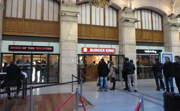 Burger king compte ouvrir 25 nouveaux restaurants en - Restaurant gare saint lazare ...