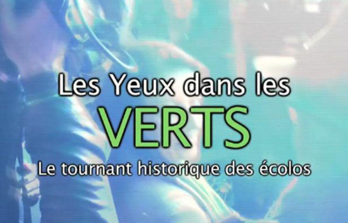 Capture d'écran du générique du webdocumentaire les Yeux dans les Verts. – 20MINUTES.FR