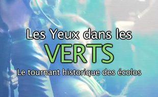 Capture d'écran du générique du webdocumentaire les Yeux dans les Verts.