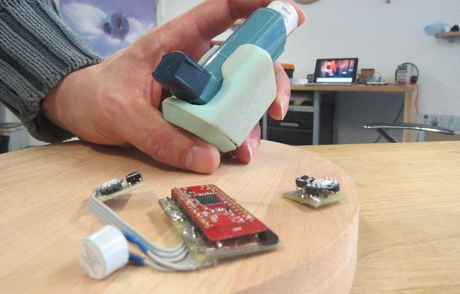 Aptatio a fabriqué un inhalateur connecté pour patients asthmatiques