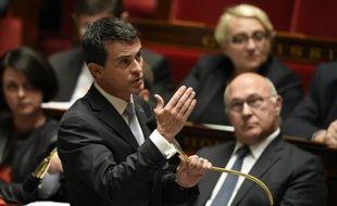 Le Premier ministre, Manuel Valls, le 28 octobre 2015 à Paris