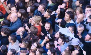 Vincent Macaigne, dans la foule de La Bataille de Solférino