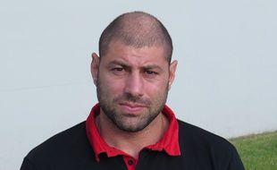 Georgi Chkhaidze, le 3e ligne géorgien du LMR.