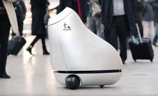 La poubelle robot sera testée par la SNCF dès le 5 décembre dans la Gare de Lyon