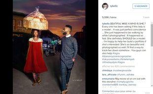 Capture de l'Instagram de la photographe TY Bello.