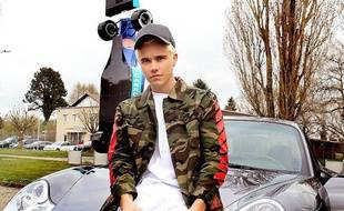 Quentin Bieber, sosie de Justin Bieber.