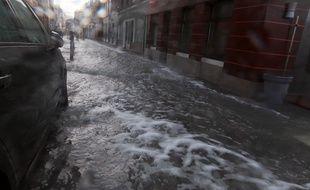 La tempête Eleanor a provoqué des pluies torrentielles en Isère, au début du mois de janvier 2018.